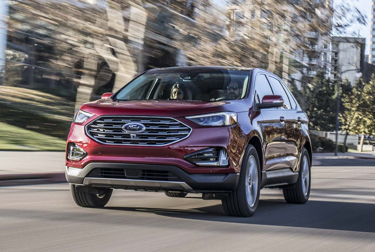 ford edge suv facelift 2018 bilder motoren ford edge 2. Black Bedroom Furniture Sets. Home Design Ideas