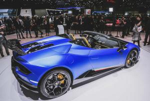 Das Trockengewicht des Lamborghini Huracán Performante Spyder soll nur 35 Kilogramm über jenem des Coupés liegen - das wären rund 1.420 Kilo