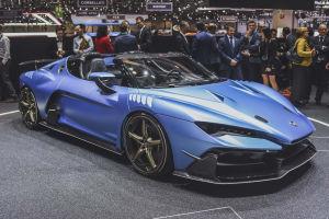 Italdesign baut fünf Exemplare des 610 PS starken Zerouno Roadster. Preis: Ab 1,9 Millionen Euro
