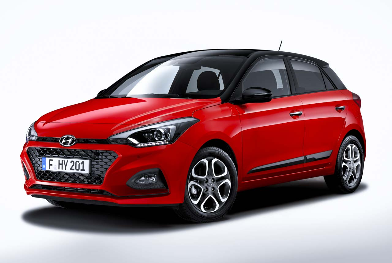 hyundai i20 i20 active facelift 2018 hyundai i20 2 gb. Black Bedroom Furniture Sets. Home Design Ideas