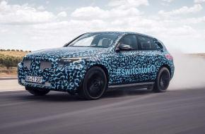In Südspanien testen die Daimler-Ingenieure derzeit mit besonderem Augenmerk Ladeverluste bei starker Beanspruchung des Akkus
