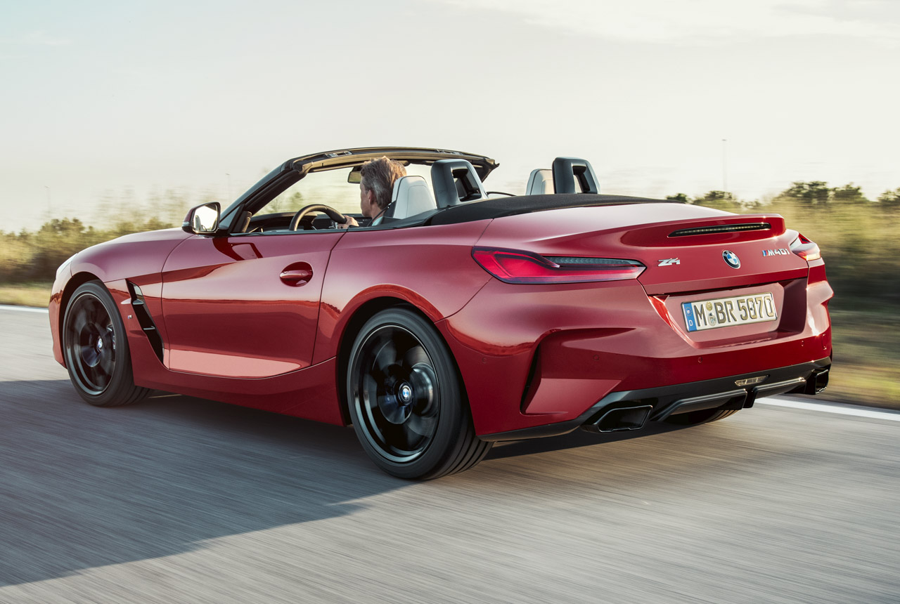 Bmw Z4 G29 2019 Premiere Des Bmw Roadsters