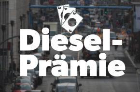 Geld für den Alten: Die Autoindustrie legt neue Diesel-Umtauschprämien auf. Allerdings voraussichtlich zunächst nur in 14 Städten