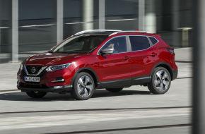 Der Nissan Qashqai kann als Benziner künftig mit 140 PS oder 160 PS bestellt werden. In beiden Fällen handelt es sich um einen 1,3-Liter-Vierzylinder-Turbo