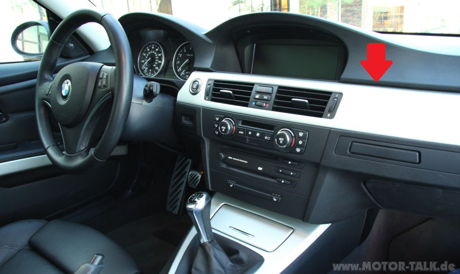 bmw e90 mit navi navi nachr sten in limo lci bmw 3er. Black Bedroom Furniture Sets. Home Design Ideas