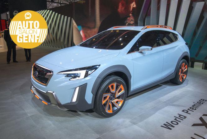 Subaru zeigt mit der Studie XV Concept einen Ausblick auf den neuen SUV XV