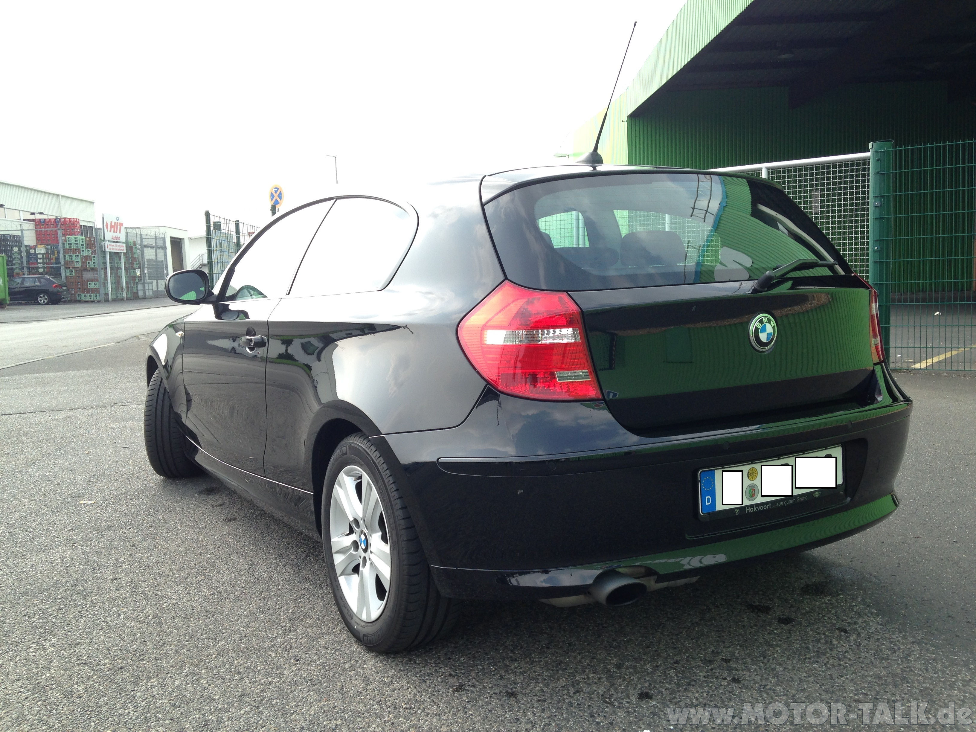 bmw 116i bj mit ca 52000km zu verkaufen super. Black Bedroom Furniture Sets. Home Design Ideas