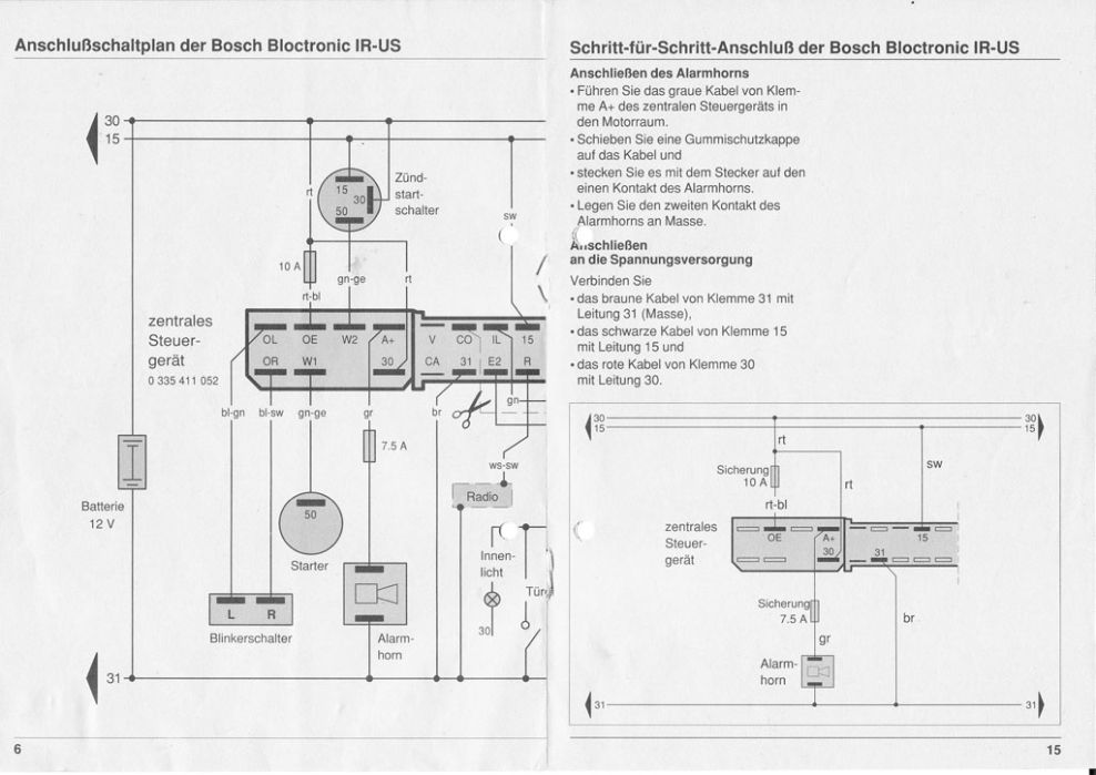 img 0016 einbauanleitung f r bosch bloctronic ir us bmw 3er e36 203026992. Black Bedroom Furniture Sets. Home Design Ideas