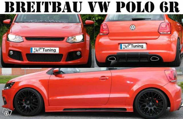 vw polo 6r breitbau kit tuning 1359436305 vw polo 6r 1 2. Black Bedroom Furniture Sets. Home Design Ideas