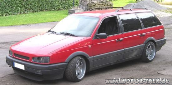passat 35i g60 rot 999a nasenb r optisches tuning mit. Black Bedroom Furniture Sets. Home Design Ideas