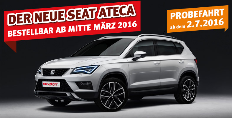 seat ateca hackerott neuer seat ateca suv seat ateca 208337173. Black Bedroom Furniture Sets. Home Design Ideas