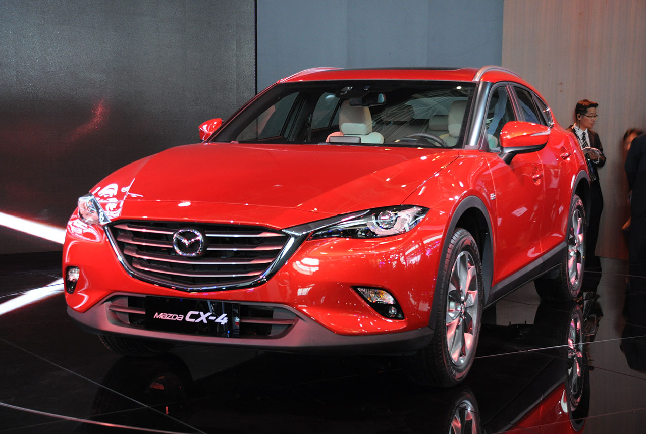 mazda cx-4 suv coupé: premiere in peking