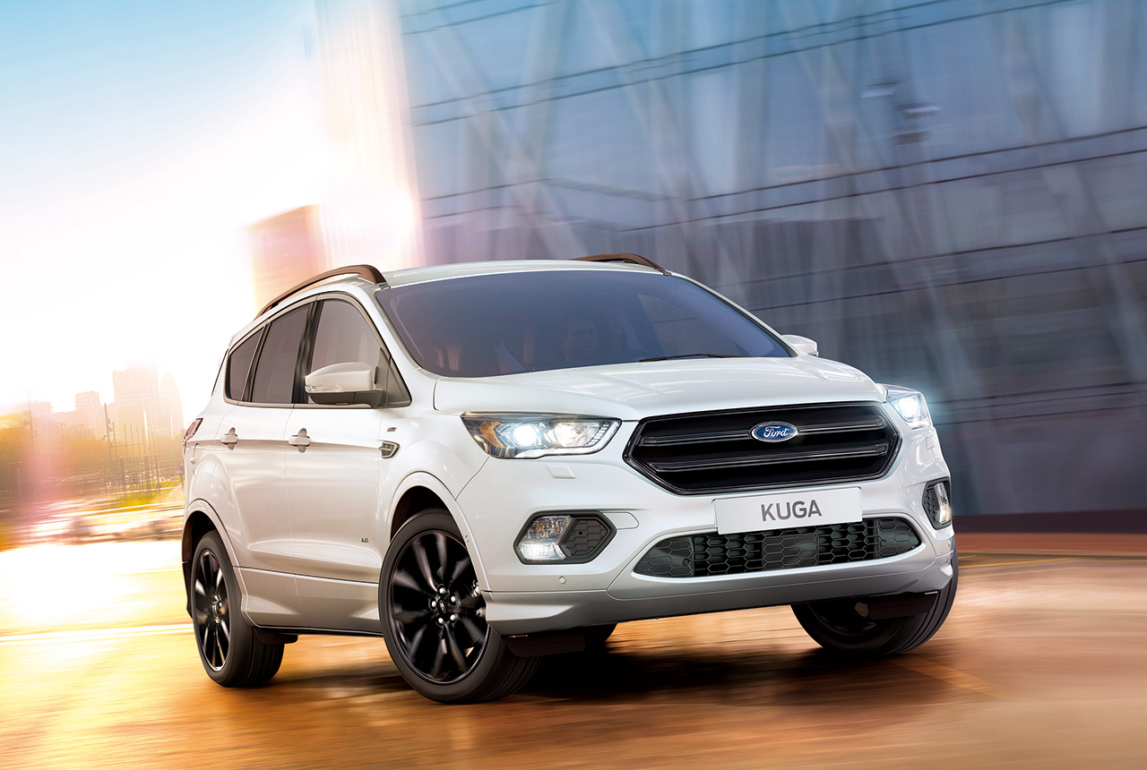 Ford kuga facelift daten preis ford kuga dm3 for 1 5 dimensioni del garage