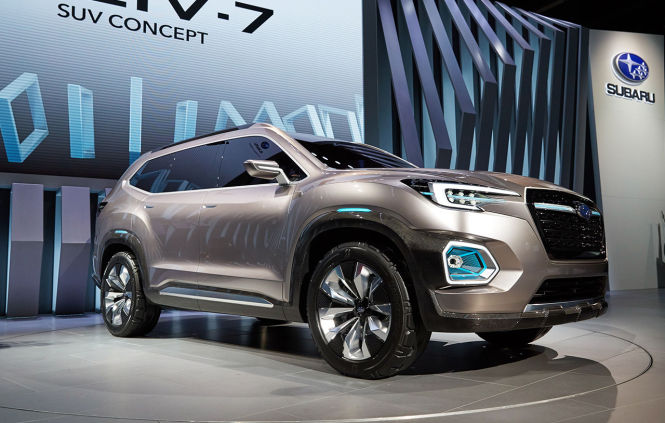 Anfang 2018 will Subaru die Serienversion des Viziv-7 Concept in den USA auf den Markt bringen