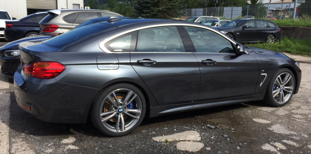 435i gc advantage mit luxury line exterieur bmw 4er for Chrome line exterieur bmw