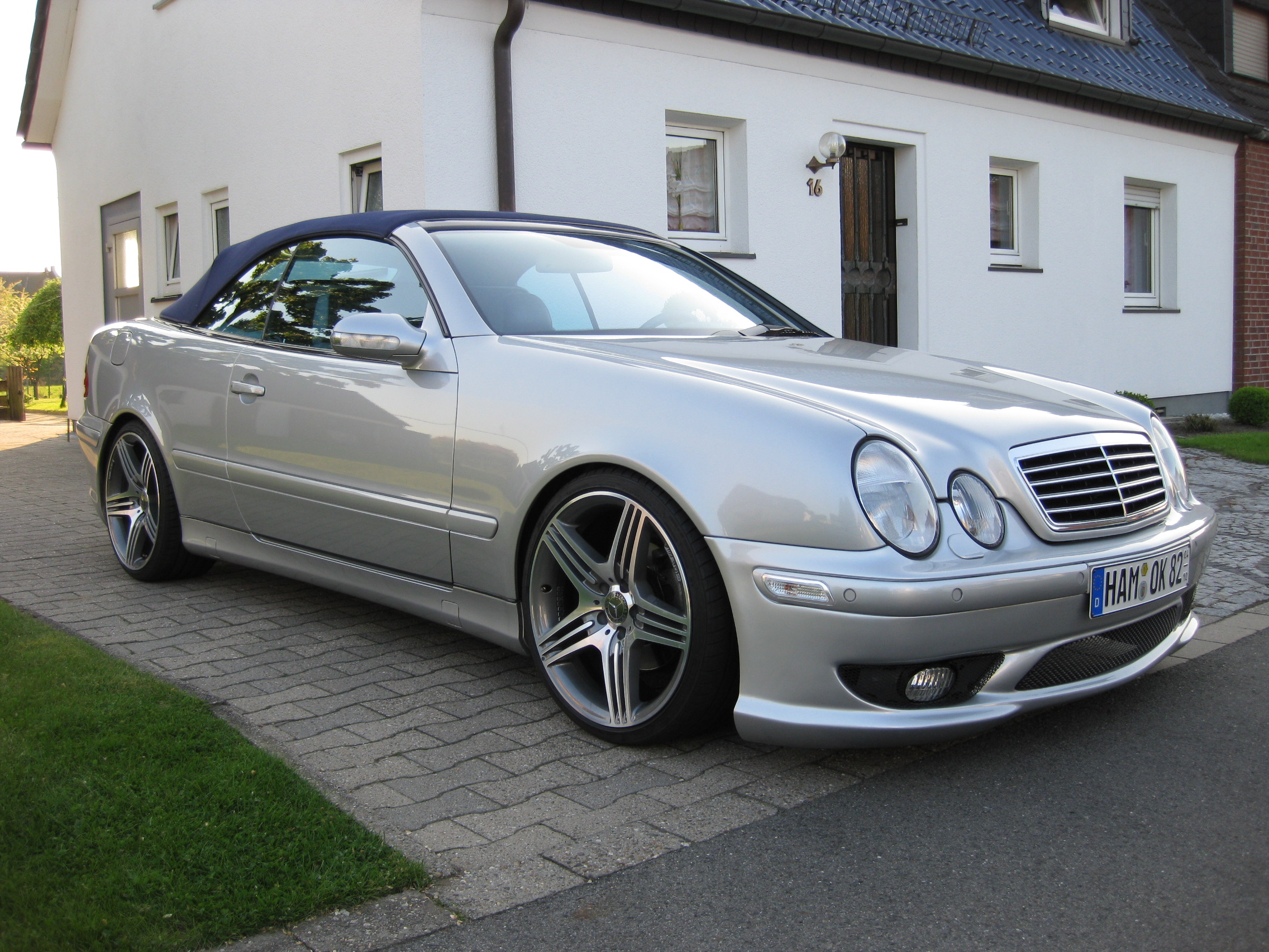 umbau clk winter 2009 tomason tn5 felgen mercedes clk. Black Bedroom Furniture Sets. Home Design Ideas