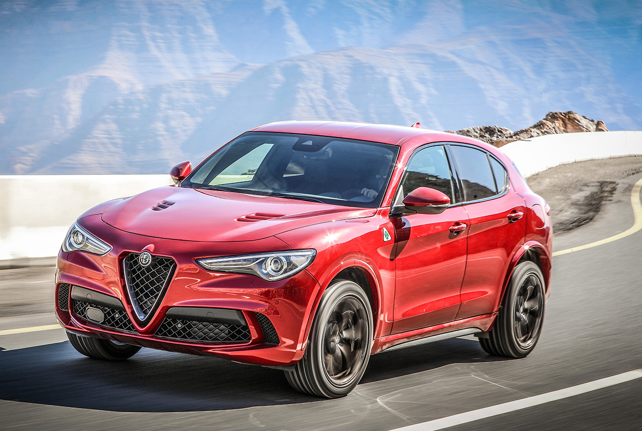 alfa romeo stelvio quadrifoglio 2018 test des 510 ps suv. Black Bedroom Furniture Sets. Home Design Ideas