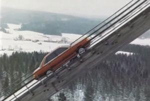 Die Kälte setzte dem Rallye-Fahrer Harald Demuth beim Dreh zu. Minus 20 Grad zeigte das Thermometer am Drehort in Finnland