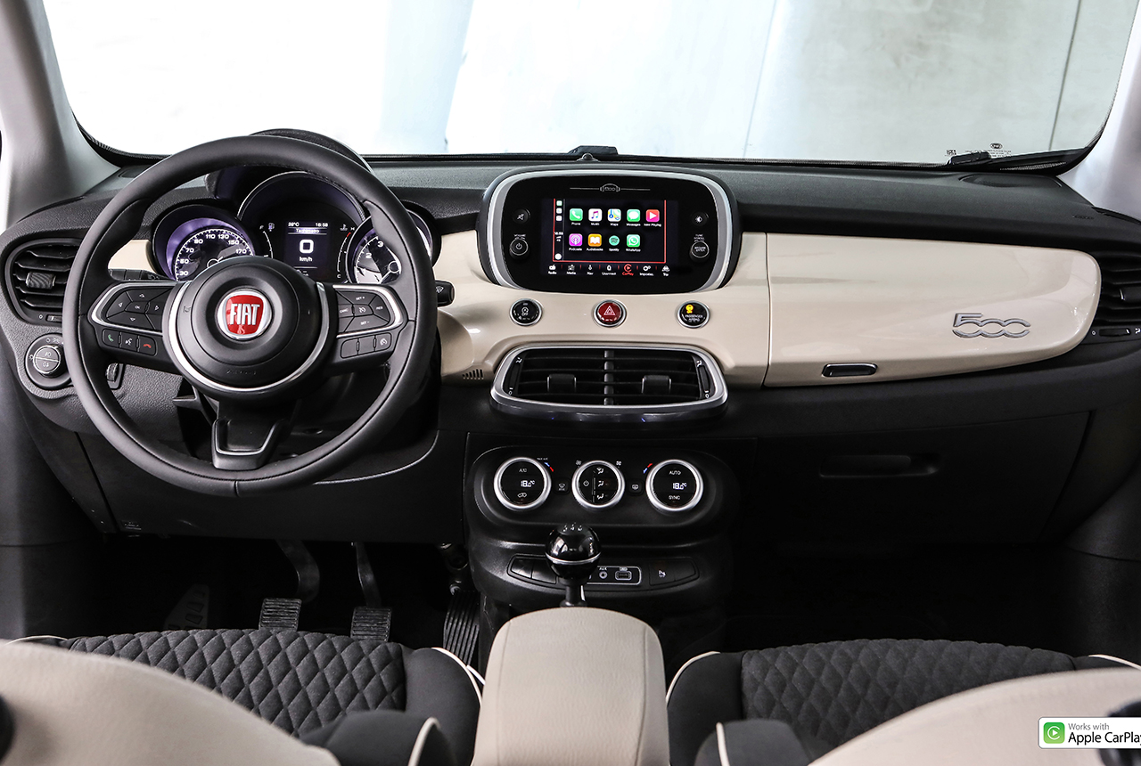 fiat 500x suv facelift 2019 preise motoren markstart. Black Bedroom Furniture Sets. Home Design Ideas