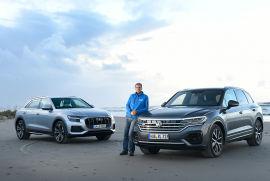 Audi Q8 und VW Touareg sind Brüder im Geiste