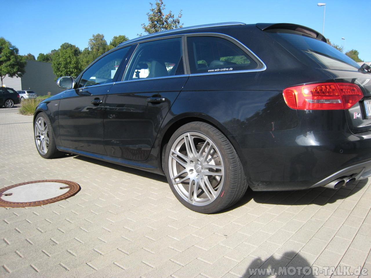 Img 5517 Audi S4 Avant Mit Eibach Pro Kit Und Bilstein