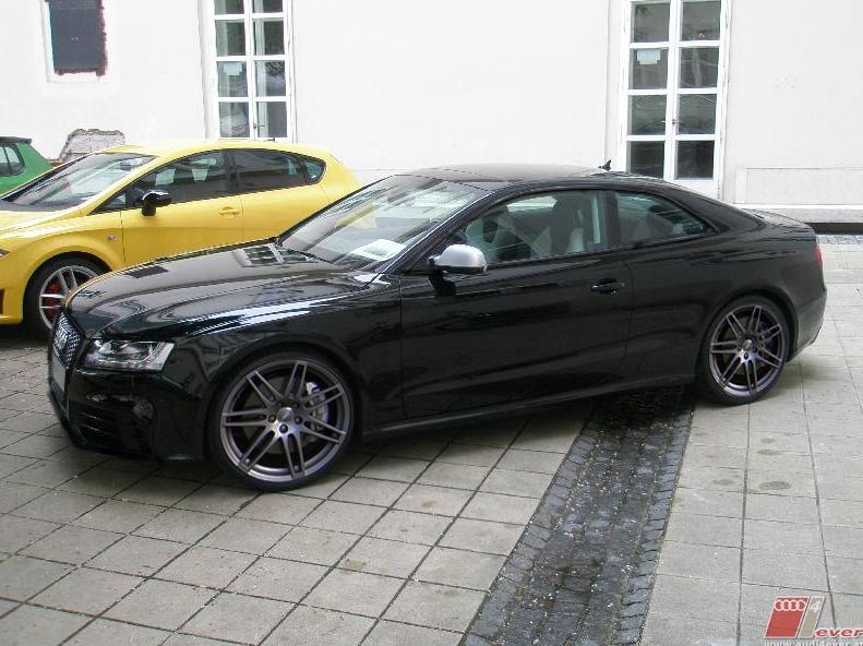 Rs5 Schwarz Audi Rs5 Probe Gefahren Audi A5 B8