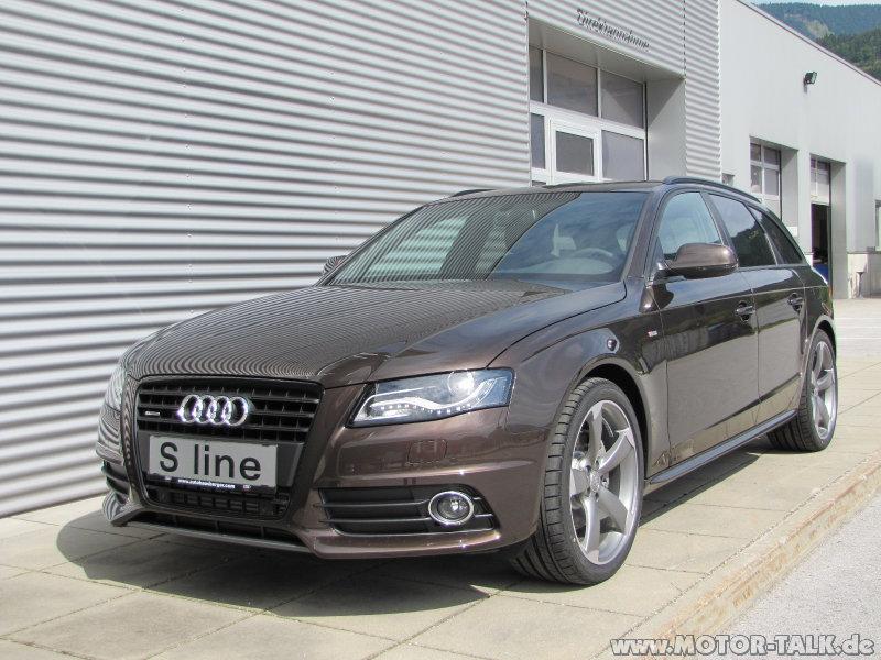 483 7464 0 Gr Teakbraun Metallic Audi A4 B8 204260408
