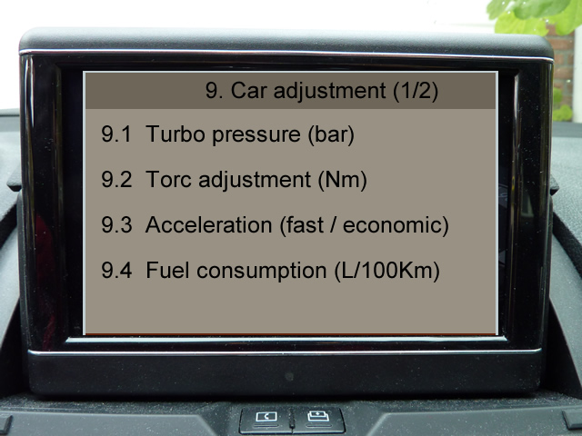 Mercedes w204 comand secret menu