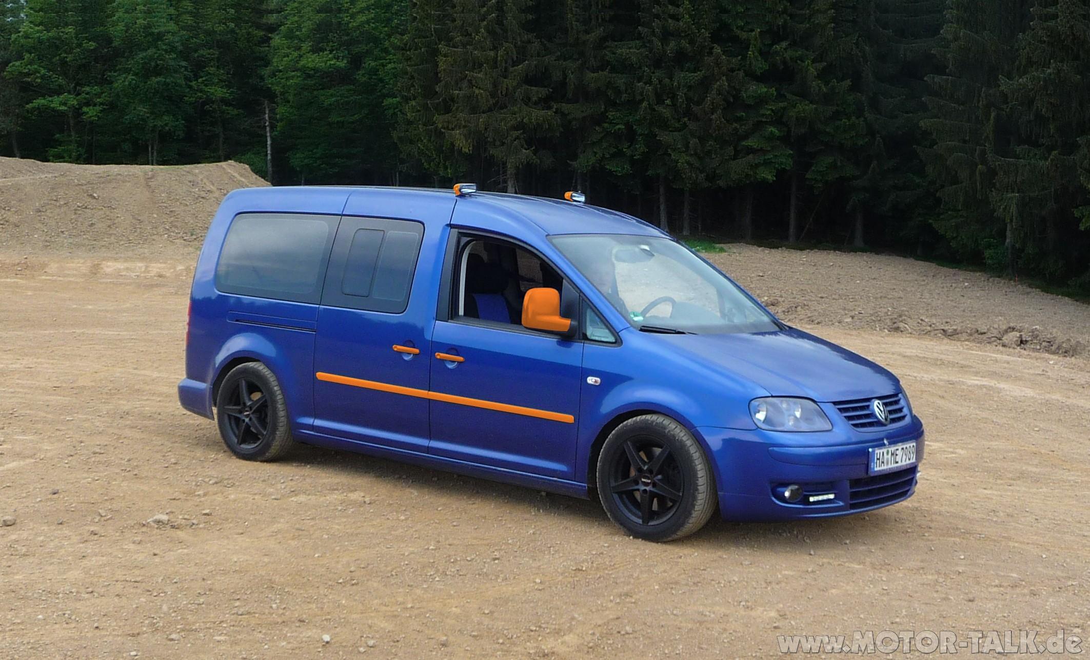 Tieferlegung : Caddy maxi Tuning : VW Caddy : #204344509