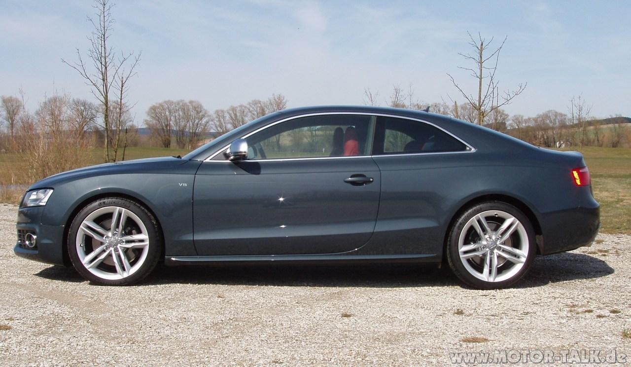 004 Meteorgrau Perleffekt Audi A5 B8 203557555