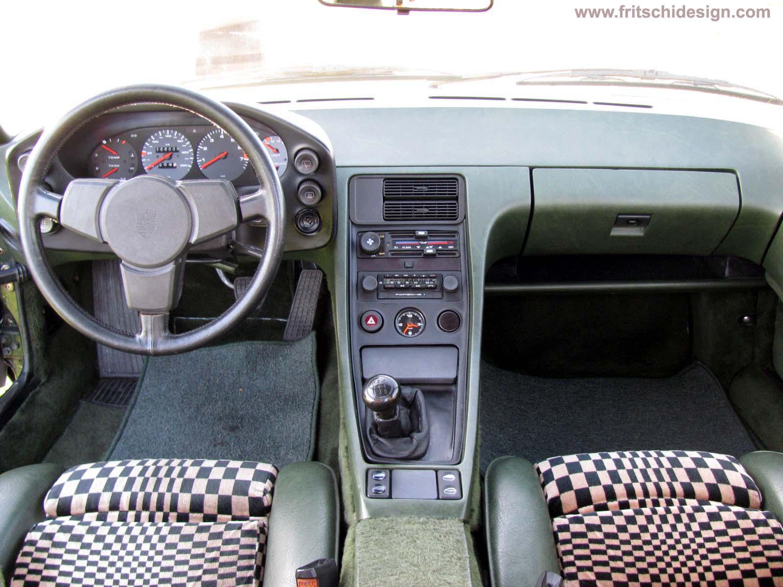 Interieur porsche 928 porsche 928 handschalter aus 3 for Interieur 928