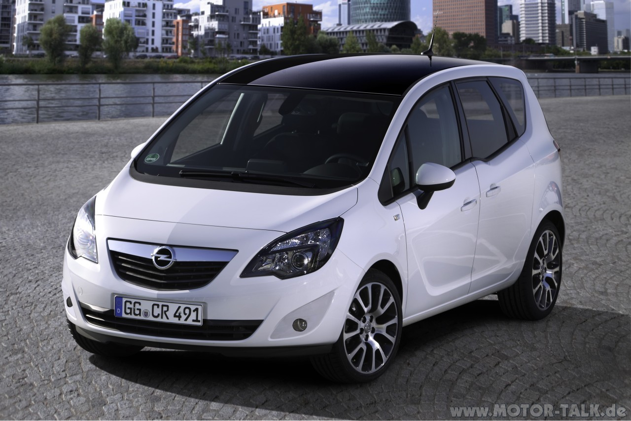 white magic meriva b im opc look opel meriva b. Black Bedroom Furniture Sets. Home Design Ideas