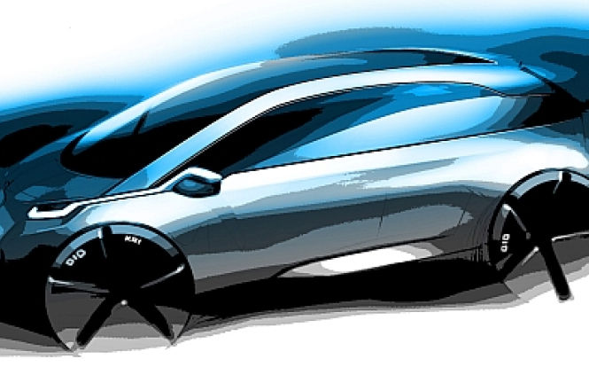 Skizze aus 2009: BMW Mega-City