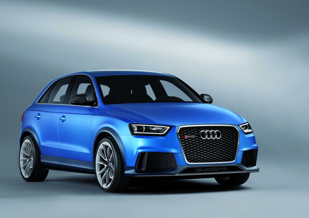 audi q3 rs seriennahes showcar audi rs q3 concept. Black Bedroom Furniture Sets. Home Design Ideas