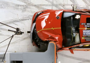 Mercedes C-Klasse Crashtest