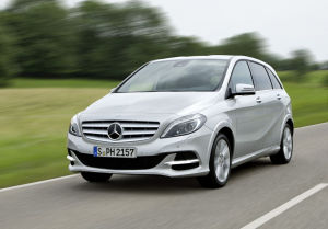 Mercedes B-Klasse (Photo: Daimler)