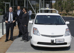 Jerry Brown, Google-Auto