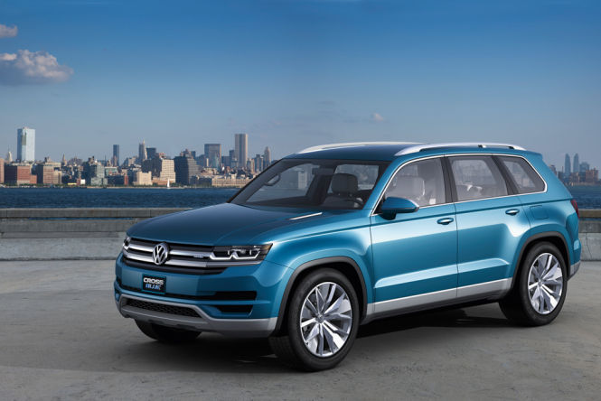 Der VW Crossblue soll vor allem den Amerikanern gefallen.
