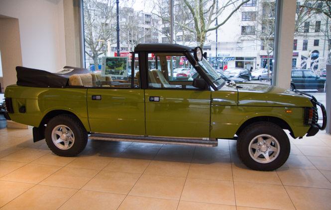 Erich Honeckers Range Rover: 50 Zentimeter länger und mit Rolls-Royce-Verdeck.
