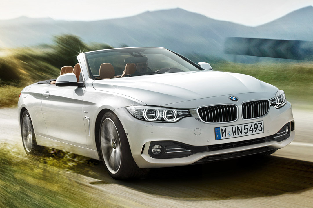 bmw 4er cabrio die sonne im r cken den f n im nacken. Black Bedroom Furniture Sets. Home Design Ideas