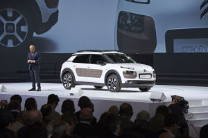 Weltpremiere des Citroën C4 Cactus in Paris