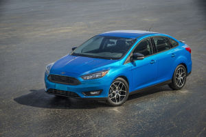 Für Amerika: Ford Focus Stufenheck Facelift