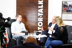 Seat-Chef Jürgen Stackmann im Gespräch mit den MT-Redakteuren