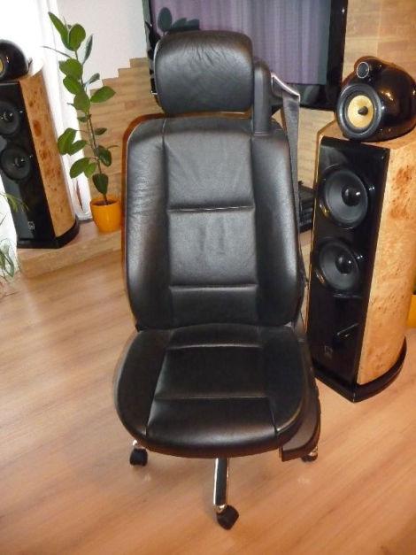 bmw b rostuhl chefsessel einzelanfertigung e46 biete. Black Bedroom Furniture Sets. Home Design Ideas