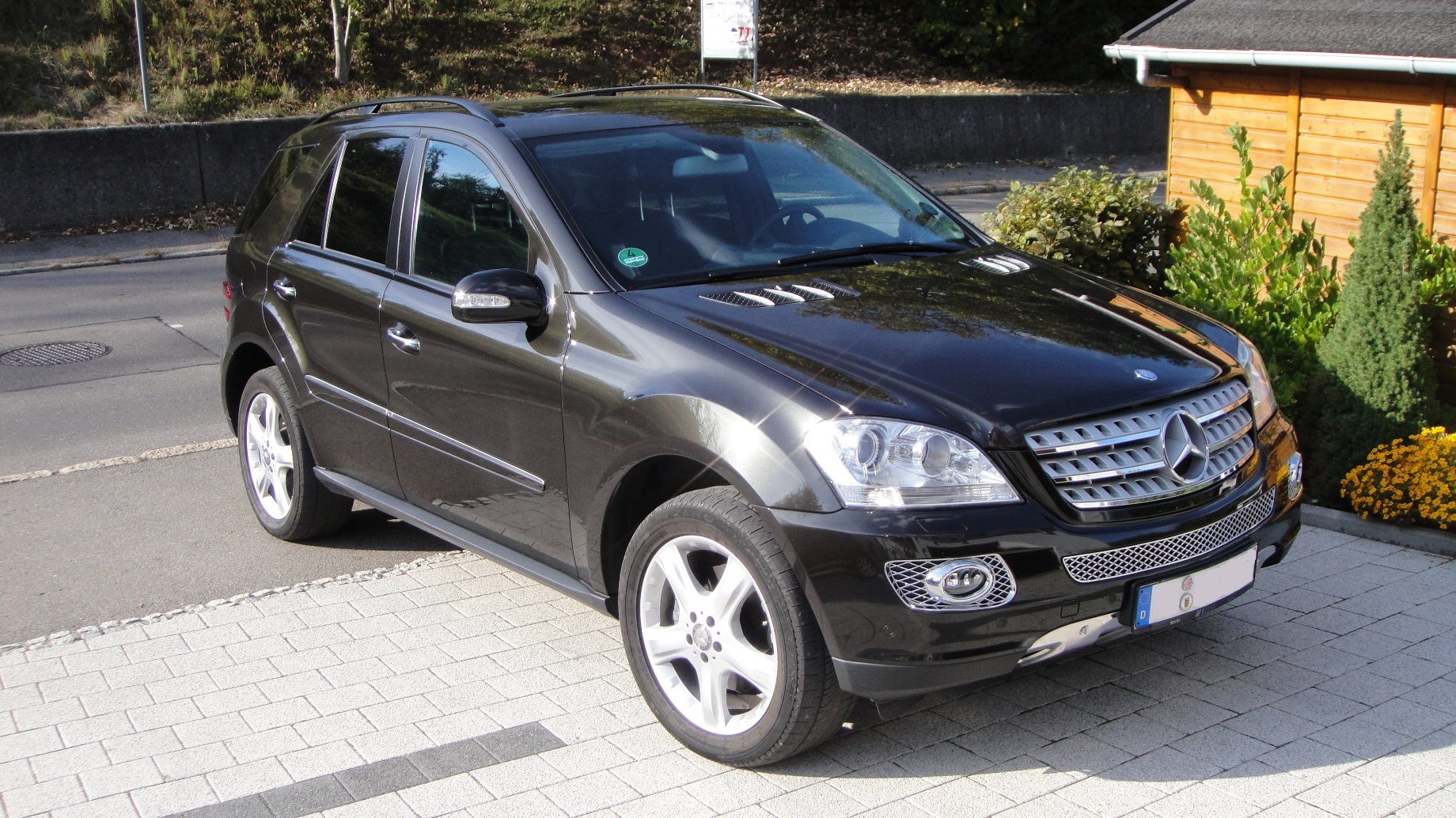 Mercedes Ml W164 on 350 cdi bluetec