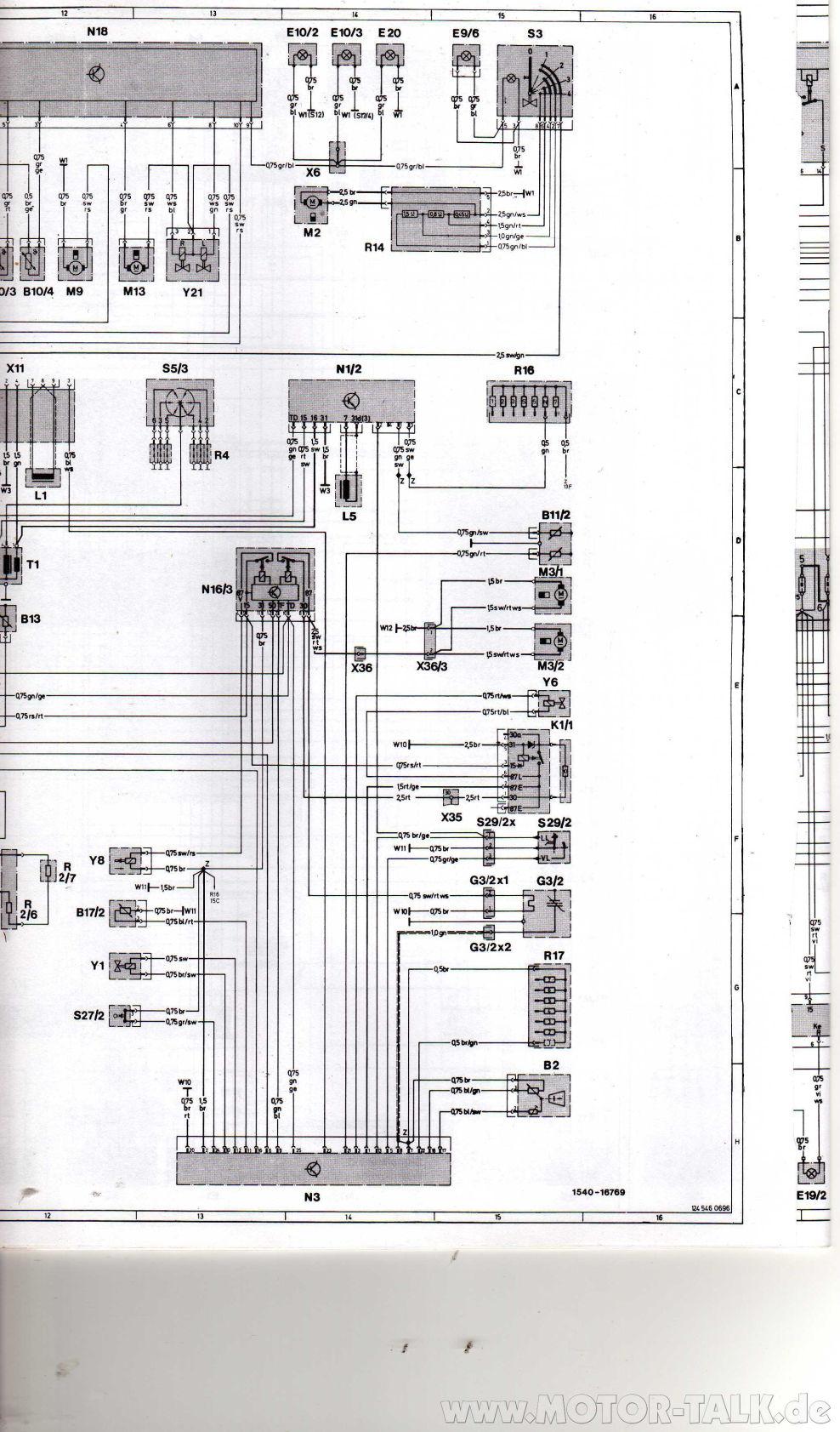 w124 schaltplan m103 5 kabelplan m103 gesucht mercedes. Black Bedroom Furniture Sets. Home Design Ideas