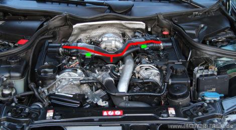 Mercedes E Cdi W Thermostat Wechseln