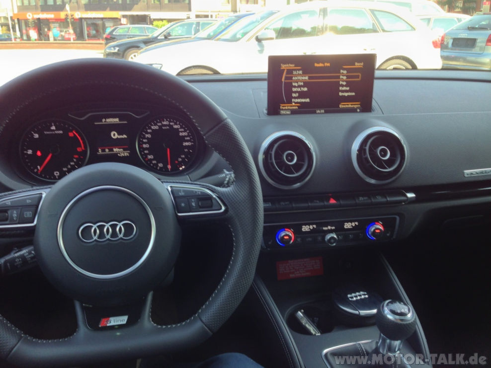 Interieur A3 : Warum gerade Audi bzw. der A3? : Audi A3 8V, 8VA ...