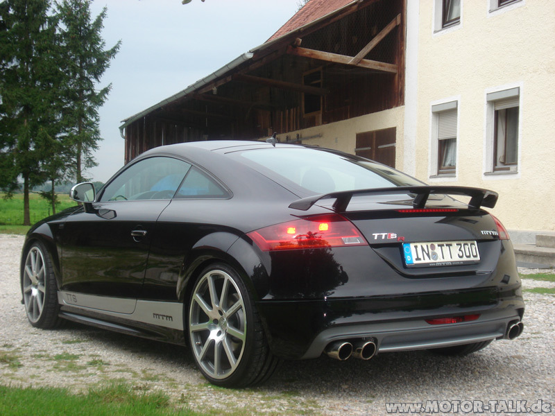 audi tts mtm tuning tts mit ttrs heckspoiler audi tt. Black Bedroom Furniture Sets. Home Design Ideas