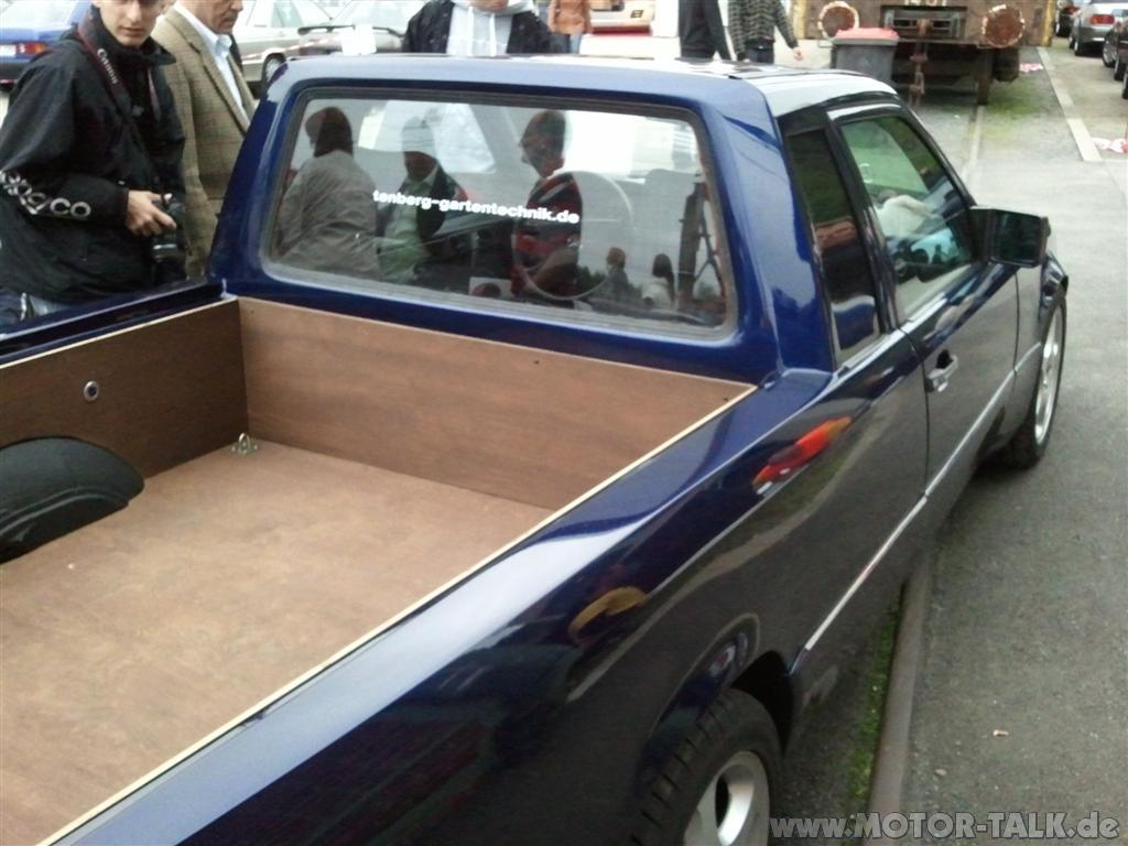 124 pickup umbau auf pick up mercedes e klasse w124 204290382. Black Bedroom Furniture Sets. Home Design Ideas
